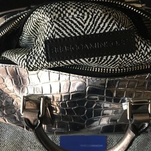 Rebecca Minkoff Bags - 🆕 AUTHENTIC REBECCA MINKOFF METALLIC SATCHEL BAG